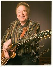 ROY CLARK HAND SIGNED 8x10 COLOR PHOTO+COA        STAR OF HEE HAW     TO MIKE