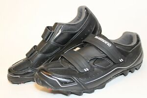 Shimano Mens Size 11.8 47 Mountain Biking 2-Bolt Easy On Cycling Shoes MO65L
