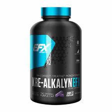 EFX Sports Kre-Alkalyn EFX Integratore Alimentare Creatina Monoidrato 120 Capsule - Nero