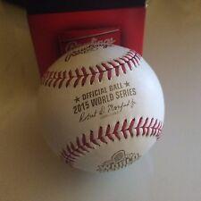 Balle Baseball - MLB Rawlings Ball - 2015 World Series Official