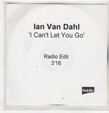 (EV563) Ian Van Dahl, I Can't Let You Go - DJ CD