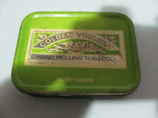 Vintage Golden Virginia Hand Rolling Tobacco Tin In Fair Condition As Pictured