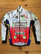 New Team Landbouwkrediet Colnago Cycling Men Tech Jacket with Windtex -  Sizes