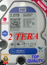 HARD DISK 2 TERA 2000 GB PC E DVR GARANZIA ITALIA NUOVO 2 TB TOP QUALITY