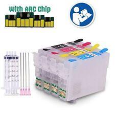Refillable ink cartridge fits Epson XP-215 XP-212 XP-315 XP-405 XP-415 XP-105