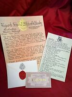 """""""Late"""" Hogwarts Acceptance Letter - Handwritten & Personalized - Harry Potter"""