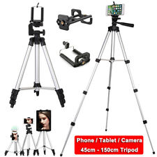 Aluminium Adjustable Tripod Stand Mount Holder Clip for iPhone Samsung Huawei LG