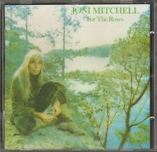 JONI MITCHELL For The Roses CD 12 track