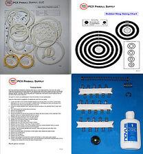 1977 Bally Night Rider Pinball Machine Tune-up Kit - Includes Rubber Ring Kit