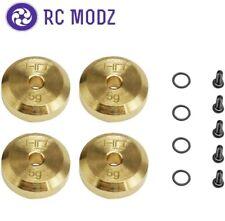 Hot Racing +4mm Steel Axles Brass Weights Axial SCX24 SXTF2604H