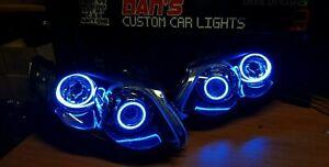 Ford Falcon FG XR6/XR8 MK2 Projector Headlights w/ RGB LED Halo Rings Angel Eyes
