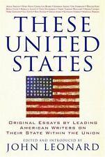 Nation Bks.These United States : Original Essays by LeadingAmer.Writers  LikeNew