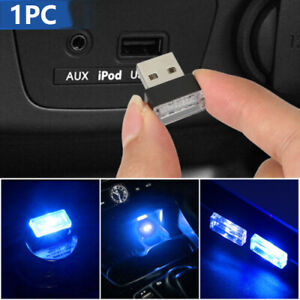 1PC Mini Lamp Bulb Accessories LED USB Car Interior Neon Atmosphere Ambient S22G