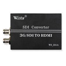 Wiistar 1080P 3G/SDI to HDMI SD/HD SDI-HDMI 3G-SDI Video Converter Adapter