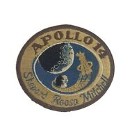 Apollo 14 Mission NASA Embroidered Patch Astronauts Shepard Roosa Mitchell 3-1/2