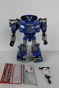 Transformers Alternators Smokescreem complete Hasbro G1 1:24 Scale Subaru