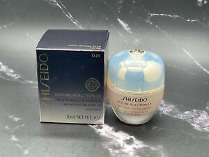 Shiseido Future Solution LX Total Radiance Foundation - O20 - 1 oz  - BNIB