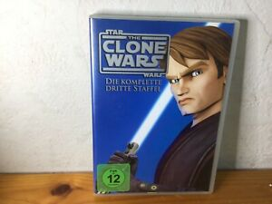 5 Dvds Star Wars The Clone Wars 3 - Die komplette dritte Staffel (Season) DVD