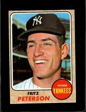 1968 TOPPS #246 FRITZ PETERSON EX YANKEES  *X00672