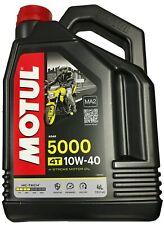 ( 12 / 1l) huile Motul partiellement Synthétique 10w40 4t 4l