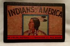 1935 INDIANS OF AMERICAN NATIVE ANCIENT AMERICA TRIBAL RACE APACHE MOHAWK ILLUST
