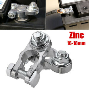 16-18mm Car Battery Connector Terminal Clamp Clips Zinc Pile Head For Truck Van