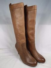 INC International Co Trisha Knee High Boots Women's Size US 8 M (B) Brown $170