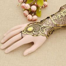 1 Pc Womens Long Wedding Lace Bride Gloves Fingerless Party Bridal Dress Vintage