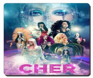 Cher Dressed to Kill Tour mousepad Brand New!!..Never Used.....