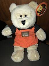 Starbucks bearista bear VIA 2010 Orange. US Seller!!NEW with Tags.
