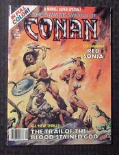 1978 Marvel Super Special #9 VF+ Savage Sword of CONAN - Red Sonja - Full Color