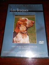 dvd passion du chien LES BRAQUES italien, français, de weimar - sous blister