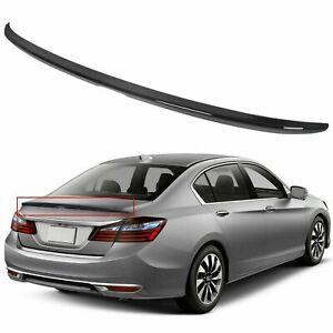 Fits Honda Accord 2013-2017 4 Dr Sedan Rear Spoiler Factory Style Primed