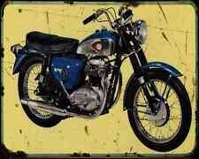 Bsa A65 Thunderbolt 66 A4 Metal Sign Motorbike Vintage Aged