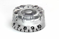 """Speed """"Grip"""" Knob Silver for US/CTS Potis fits Gibson®"""