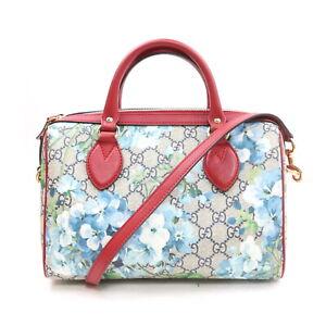 Gucci Hand Bag  Reds PVC 1716860