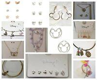 Disney jewellery Dumbo Earrings Necklace Mickey Mouse Studs Earrings Primark