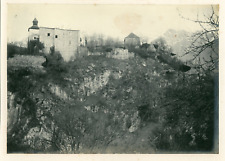 Italie, Meran, Zenoburg Vintage print.  Tirage argentique  11x16  Circa 19
