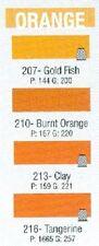 Cfm-D- Pro Wrap Color Fast Orange Colors Size D 300 Yd Spools