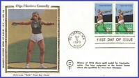 US #1790 U/A COLORANO SILK 2 FDC STR2  Summer Olympic Games