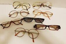 VINTAGE LOT 8 Eyeglasses Frames Retro Cool Hip Firenze Cool Ray Regent