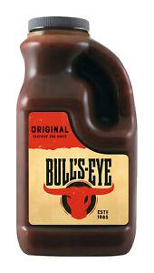 Bulls Eye Grillsauce Original BBQ Sauce - Barbecue Steak Sauce - 2L