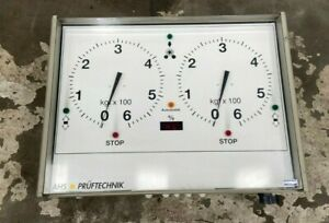 AHS Pruftechnik 06 ECPU STD Brake Tester Replacement Display