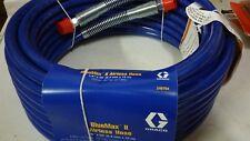 "Graco BlueMax II Airless Paint Spray Hose 1/4""x50' PN240794"
