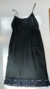 Dosa Black Silk Slip Dress 3