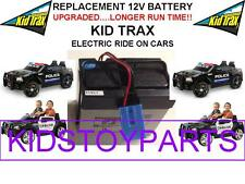 NEW! LONG LASTING DODGE CHARGER CAR KID TRAX 12V 15AH  BATTERY BLUE W/PLUG