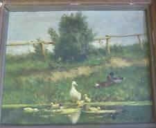 Gemälde Enten Constanz Artz niederländischer Maler