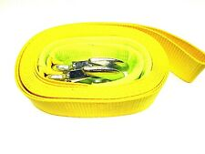 Tow Strap Towing Rope Heavy Duty 6m 3 ton Webbing Recovery AU322