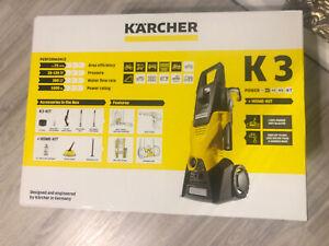 Neu! Kärcher K3 Hochdruckreiniger + Home kit ungeöffnet in original Verpackung