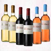OFFERTA Cassa di 6 Bottiglie di Vino Pugliese Miste tra Rosso Rosato e Bianco